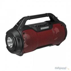 Caixa De Som com Lanterna Bluetooth USB Max1962 20w - Maxmidia